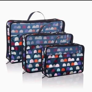 Thirty-one gumdrop small, medium, & large zip cube
